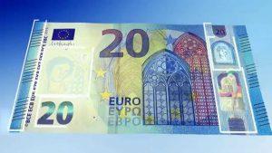 Het zou gaan om een biljet van 20 euro (Beeld: YouTube)