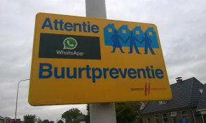 Sesamstraat start met WhatsApp Buurtpreventie