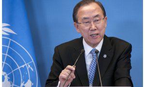 Ban-Ki Moon licht VN-prioriteiten toe na Sinterklaasonderzoek