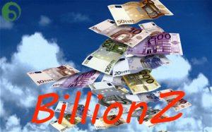 BillionZ, het nieuwe trekkingsspel met een hoofdprijs van één miljard euro.