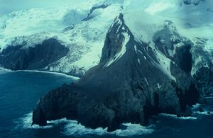 Bouvet is het meest afgelegen eiland ter wereld. (Foto: Wikimedia Commons)