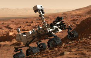 Na ongeveer een week is marsrobot Curiosity de rode planeet al grondig beu.