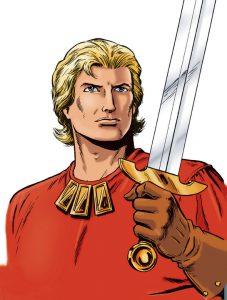 Johan is bij zijn ideologische tegenstanders bekend als De Rode Ridder. (Foto: Wikia.com)
