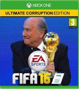 In FIFA 16 moet je zoveel mogelijk smeergeld verzamelen.
