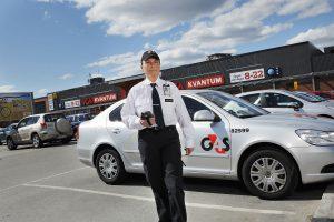 Met zijn 5000 medewerkers kan G4S bijna vier agenten per kilometer landsgrens inzetten. (Foto: G4S)