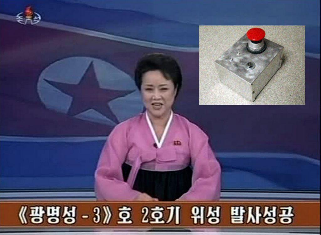 Noord-Korea gaat een grote rode knop testen.