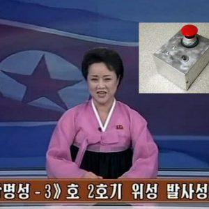 Noord-Korea kondigt test aan van grote rode knop