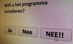 Software voor vrouwen krijgt duidelijke NEE!!-knop