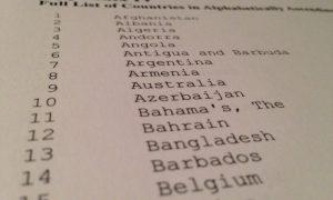 OESO-rapport: België in top 20 alfabetisch gerangschikte landen