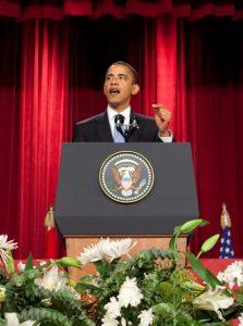 Obama in kleuterschool Wilsele
