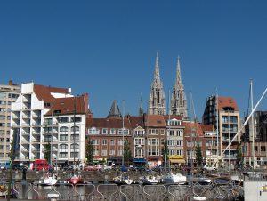 Het centrum van Oostende (Foto Friedrich Tellberg - CC BY 2.5)