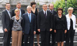 CD&V, sp.a en Open Vld trekken in 2014 samen naar de kiezer