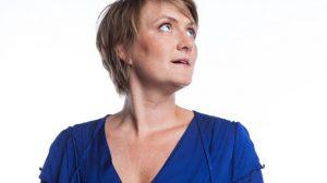 Ruth Joos mag van Filip Pletinckx, de nieuwe netmanager van Radio 1, best een cultuurprogramma presenteren. 'Op vrijdagen. In de zomer.' (Foto: VRT)
