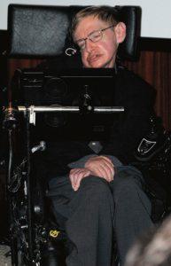 De KULeuven distantieert zich van Hawking's attitude. Foto: Wikipedia, public domain.