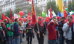 Grote betoging werkgeversorganisaties legt ook vandaag land lam
