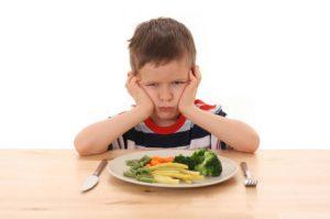 De kleine Brent eet voortaan braaf zijn groentjes. Foto: http://terrificparenting.com