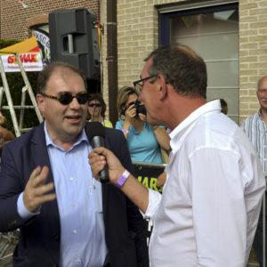 Aalsters burgemeester Christophe D'Haese: 'Brusselaars niet welkom in onze cafés'