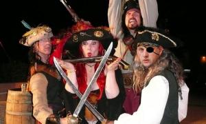 Piraten plunderen Maagdeneilanden