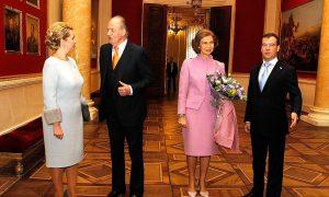 Spaans koningspaar viert ivoren bruiloft
