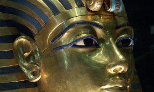 Erven-Toetanchamon dagen Egyptisch Museum voor gerecht