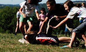 Spelen in de tuin gevaarlijk voor kinderen