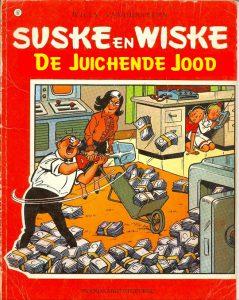 De gewraakte Suske en Wiske-cover.