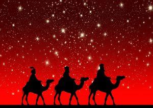 De drie koningen probeerden per kameel Israël binnen te dringen. (Foto: Pixabay)