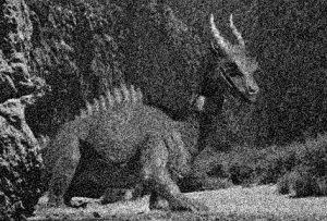 Foto's van de met uitsterven bedreigde West-Europese draak zijn erg schaars.