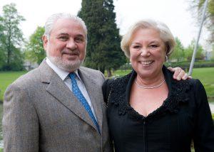 Meneer en mevrouw Huts. (Foto: VRG Alumni)