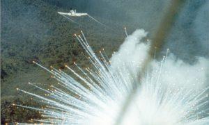 Internationale gemeenschap viert Dag Van De Vrede met feestelijk vuurwerk boven Aleppo