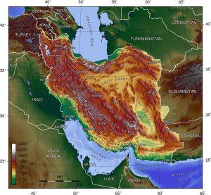 Geografie van Iran (CC BY-SA 3.0)