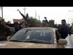 IS strijdt met Amerikaanse wapens tegen de Amerikaanse wapens van de andere facties in de regio. (Foto: Youtube)
