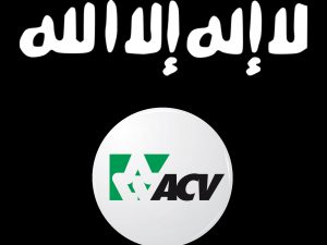 De nieuwe vlag van het ACV