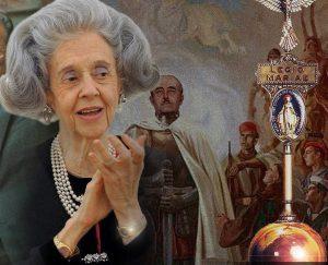 Het kleinste kind kan zien dat koningin Fabiola al jaren niet meer gerestaureerd is. Foto: Flickr)