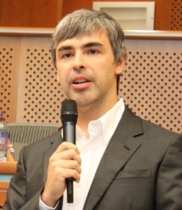 "Google-topman Larry Page: ""Privacy is een gedateerd concept"" (Foto: Stansfield PL, CC BY-SA 3.0)"