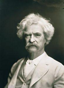Mark Twain is een van de belangrijkste Amerikaanse auteurs uit de 19de eeuw.