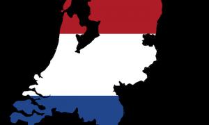 Nederland overspoeld door rode tsunami