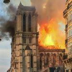 Metafoor voor westerse cultuur brandt uit