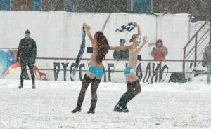 Rusland weet al eeuwen waar het in het voetbal allemaal om draait.