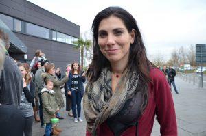 Saartje Vandendriessche: 'Wij hebben veel ervaring in landen waar het rommelt' (Foto Paul Van Welden - CCBY GFDL)