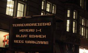 Dreigingsniveau België bijgesteld naar :-(