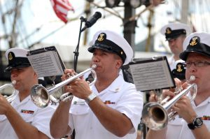 Jan Becaus: 'I don't want to blow my own trumpet' (Foto: Official Navy Page)
