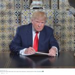 BREAKING: inauguratiespeech Donald Trump gewoon maniakale lach van twintig minuten