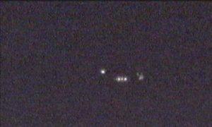 Man met slechte camera spot ufo