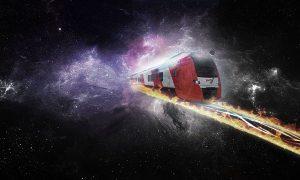 Vliegende treinen tegen 2016