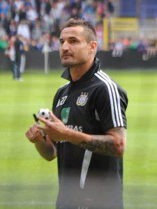 De Poolse Anderlecht-verdediger Marcin Wasylewski (Foto Filip Daneels - CCBY 3.0)