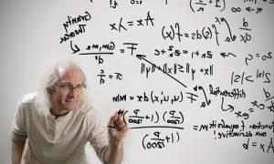 Wiskundigen delen oneven getal door twee