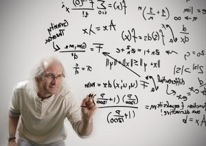 Dr. Zwiebels revolutionaire vernieuwing bestaat erin om tussen 1 en 2 tòch een getal te postuleren.