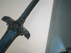 Het zwaard van Oerm de Barbaar (Foto: Roland Tanglao)